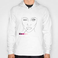makeup Hoodies featuring makeup/2 by nate