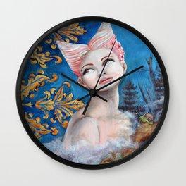 Her Dilemma Wall Clock