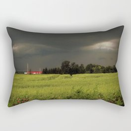 Rolling Thunder, Warm Winds Rectangular Pillow