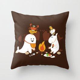 Horn Kabobs Throw Pillow