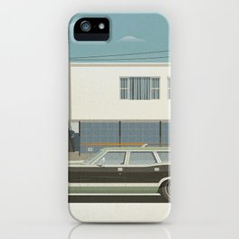 Santa Monica iPhone Case