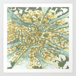 wildwood by Laura Pizzicalaluna Art Print