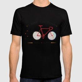 Chicago, Illinois by I Bike T-shirt