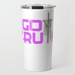 Creative simple tee design made perfectly for your faith. Makes a nice gift for everyone!  Travel Mug