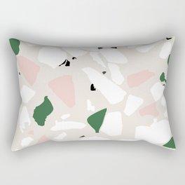 Terrazzo jungle Rectangular Pillow