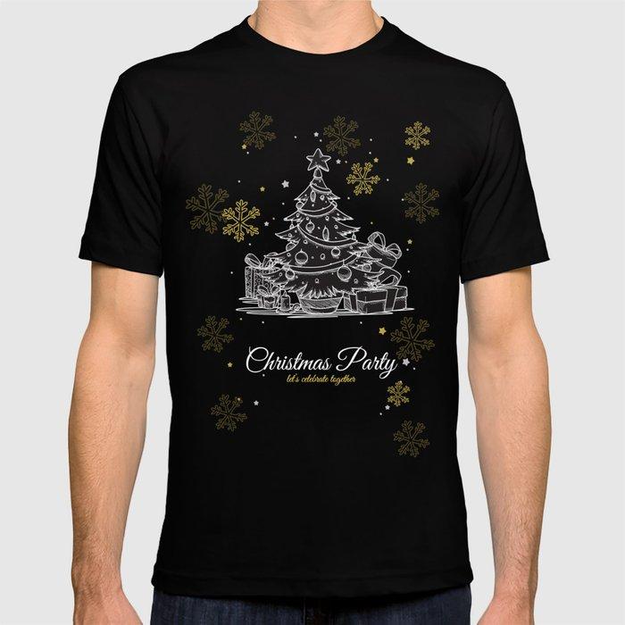 d16d9bb2cc6 Vintage Christmas Tree Design. T-shirt by mr0frankenstein