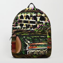 House by the lake Backpack