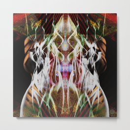 Sagg-Unicorn  abstract art Metal Print