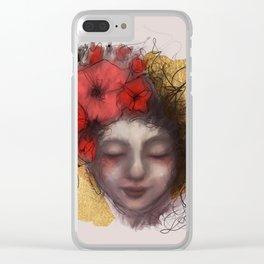 A Peaceful Sleep Clear iPhone Case