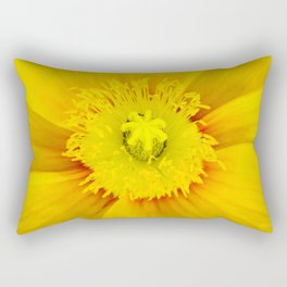 Iceland Poppy Rectangular Pillow