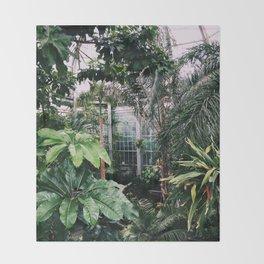 Jungle Vibes Throw Blanket