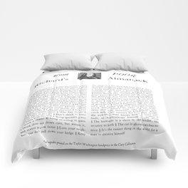 Wit & Wisdom from Poor Richard's Almanack Comforters