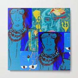 OMShiva:Shiva Insight 2 Metal Print