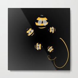 Be bee Metal Print