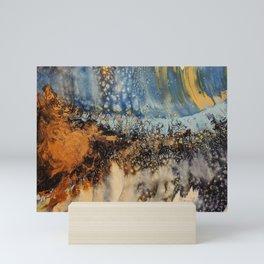 Copper Blue Serenade Mini Art Print