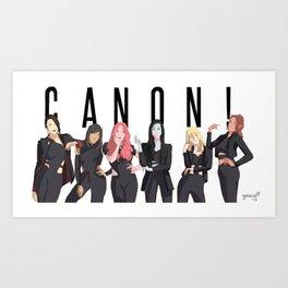 CANON! Art Print