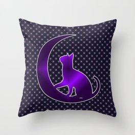 Pagan Cat Throw Pillow