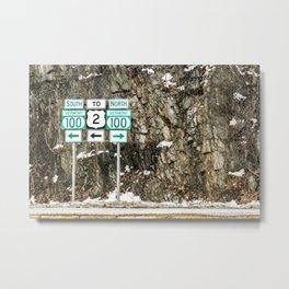Vermont Route 100 Metal Print