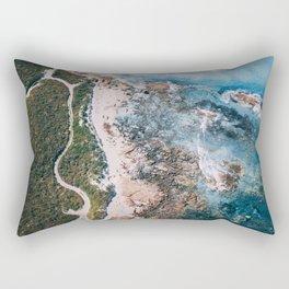 Sun of a Beach Rectangular Pillow