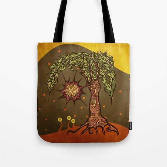 "Mystic tree Dia by Pom Graphic Design & Viviana Gonzalez"" Tote Bag"