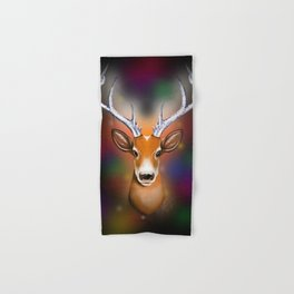 Christmas Woodland Beast Hand & Bath Towel