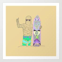 Sandman Art Print