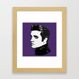 Royal Elvis Framed Art Print