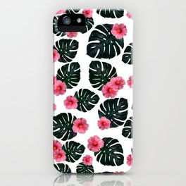 Tropical pattern n.1 iPhone Case