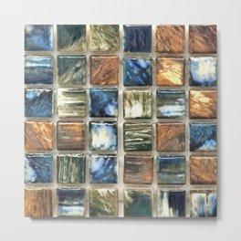 Tile 6 Metal Print