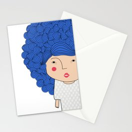 Mss Blue Stationery Cards
