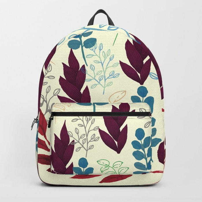 Floral Pattern #5 Backpack