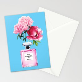 Perfume and Peonies Stationery Cards