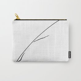 Black Writer's Quill Carry-All Pouch