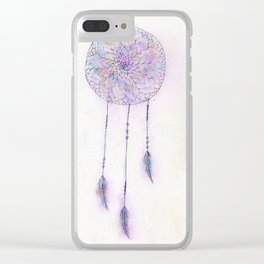 Catching Dreams Clear iPhone Case