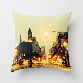 6th Avenue Throw Pillow