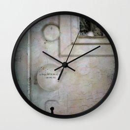 Open Every Door Wall Clock