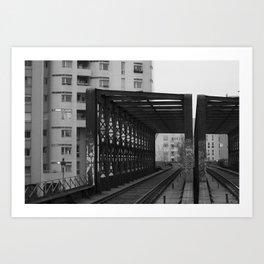 Ourcq 2 Art Print
