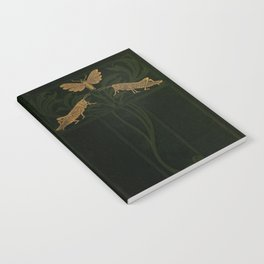 Art Nouveau Insects Notebook