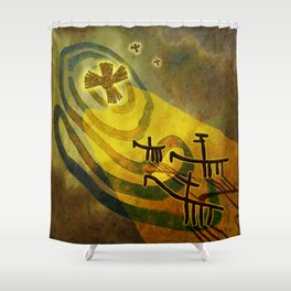 To the Star Shower Curtain