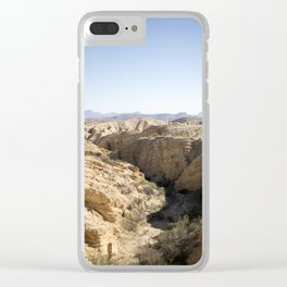 Terlingua Texas III Clear iPhone Case