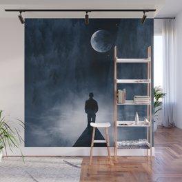 Blue Dream Night Wall Mural