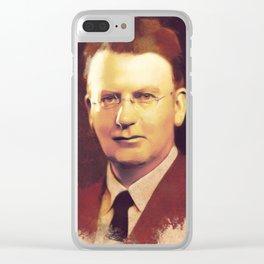 John Logie Baird, Inventor Clear iPhone Case