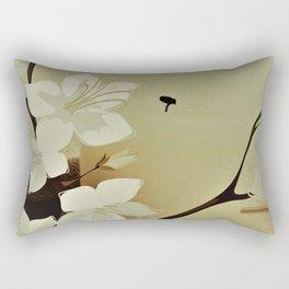 abstraktes Flowerdesign Rectangular Pillow