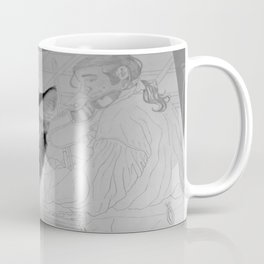 Cats...Not Caring in the History of Ever Coffee Mug