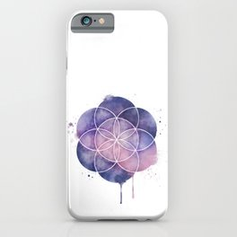 Seed of Life iPhone Case
