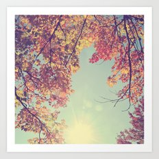 I fell in love with Fall Art Print
