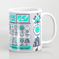 spires Mugs featuring SPIRES IRRIGATION 2015 by Spires