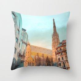 Perfect Merge Throw Pillow