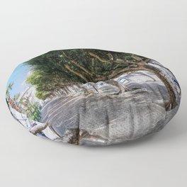 Trapani art 10 Floor Pillow