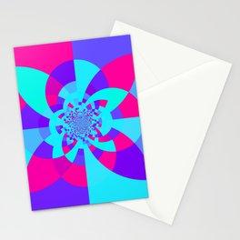 Kaleidoscope Mandala Unicorn Colors Stationery Cards